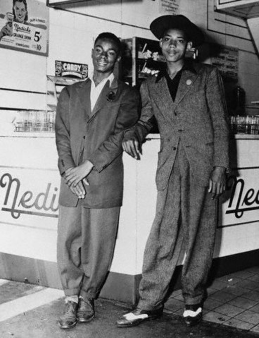 Teens Dressed in Zoot Suits Designer Courtesy - © Bettmann/CORBIS