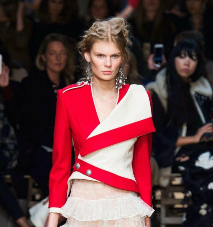 Alexander McQueen Spring 2016 Jacket