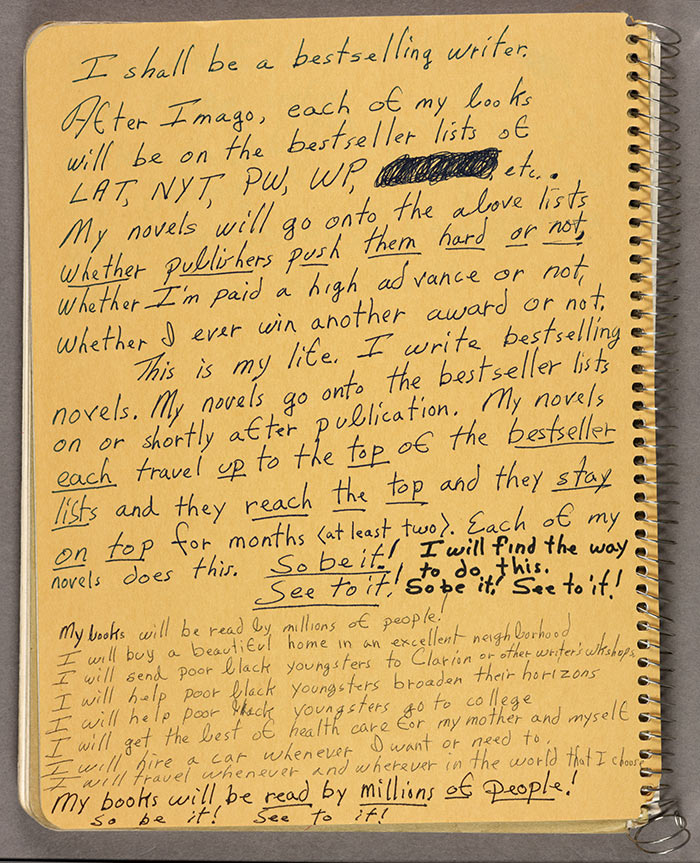 Octavia Butler Journal