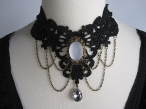 Elaborate Lace Choker