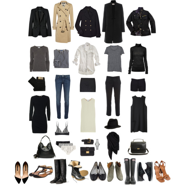 Wardrobe Essentials, Polyvore