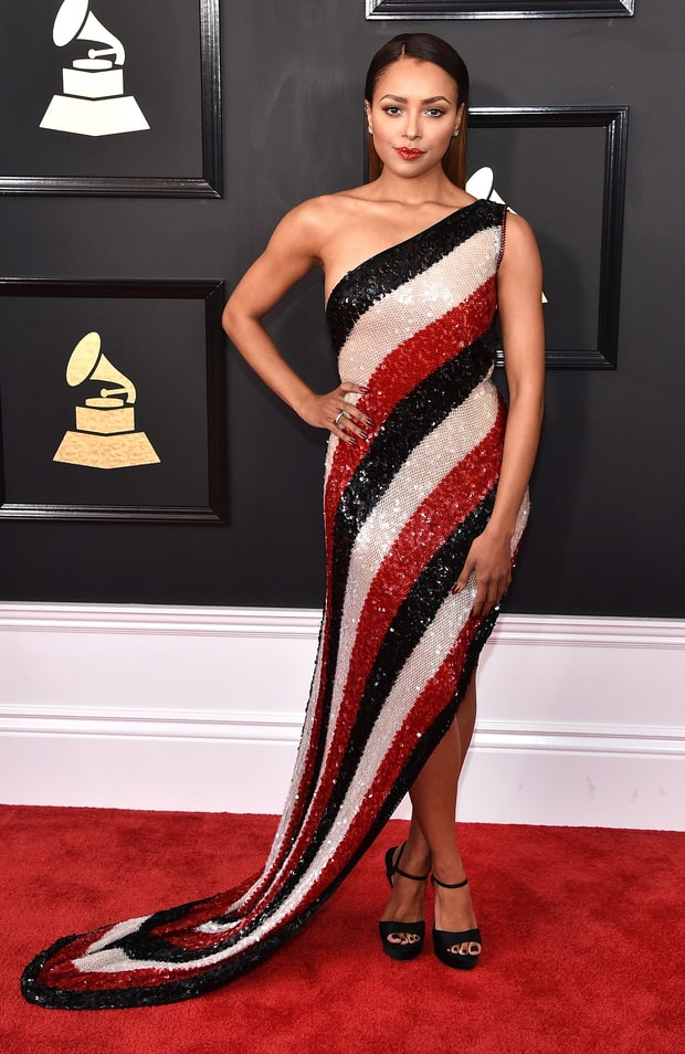 Kat Graham in Jean Paul Gultier