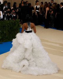 Janelle Monae in Ralph & Russo (back)